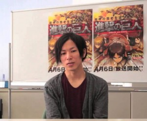 Hajime Isayama creator of Attack on Titan Manga Anime Series